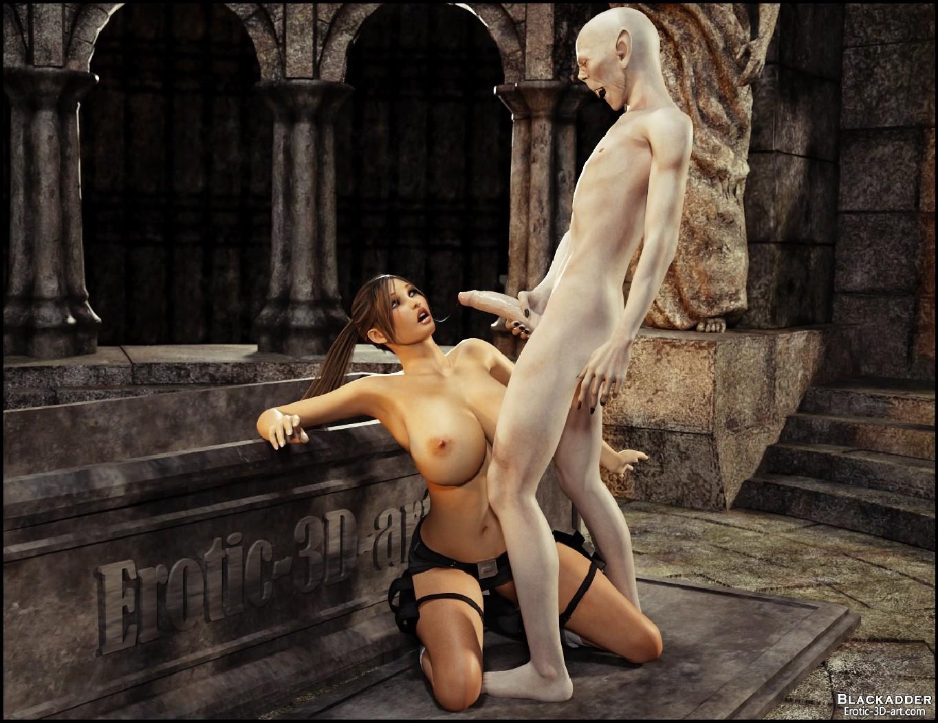 3D Tomb Raider Xxx blackadder - monster sex 6 • free 3d porn comics online