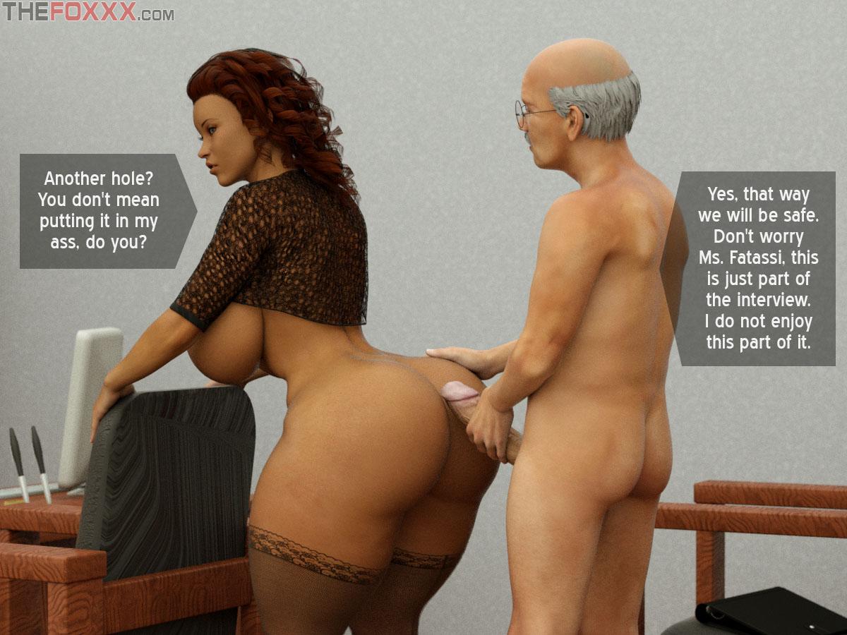 3D Big Tits Anal the foxxx - azalea's job interview • free porn comics