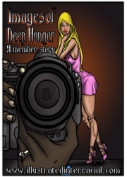 Illustrated interracial- Images of Deep Hunger