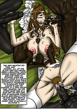 comic My wedding gangbang