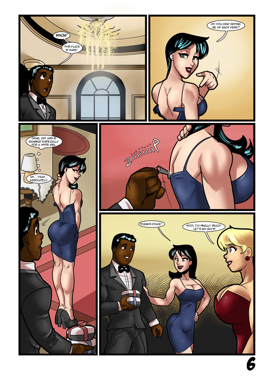 John interracial cartoon porn