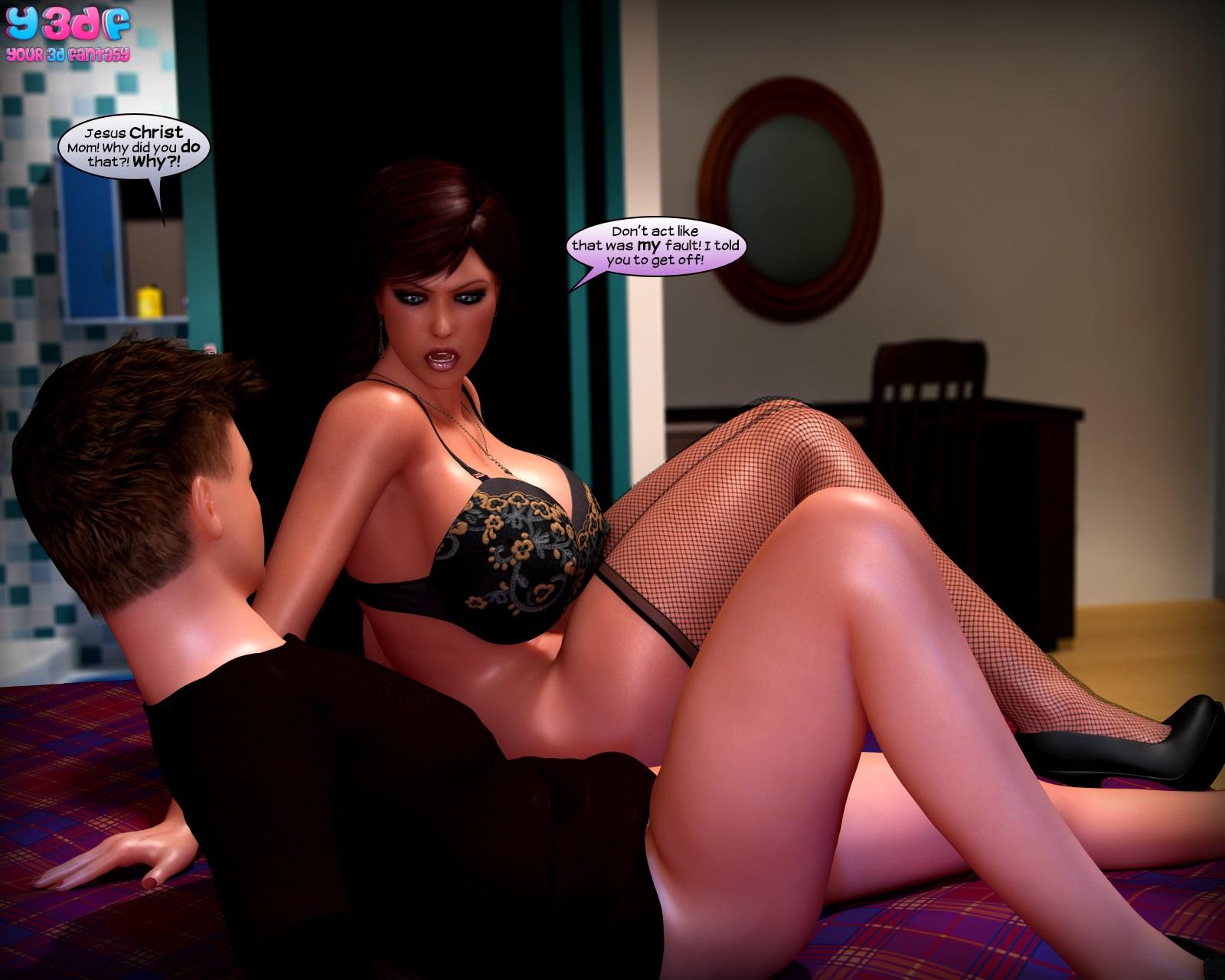 Y3DF- Flashback • 3D Incest Sex Family Porn Comics