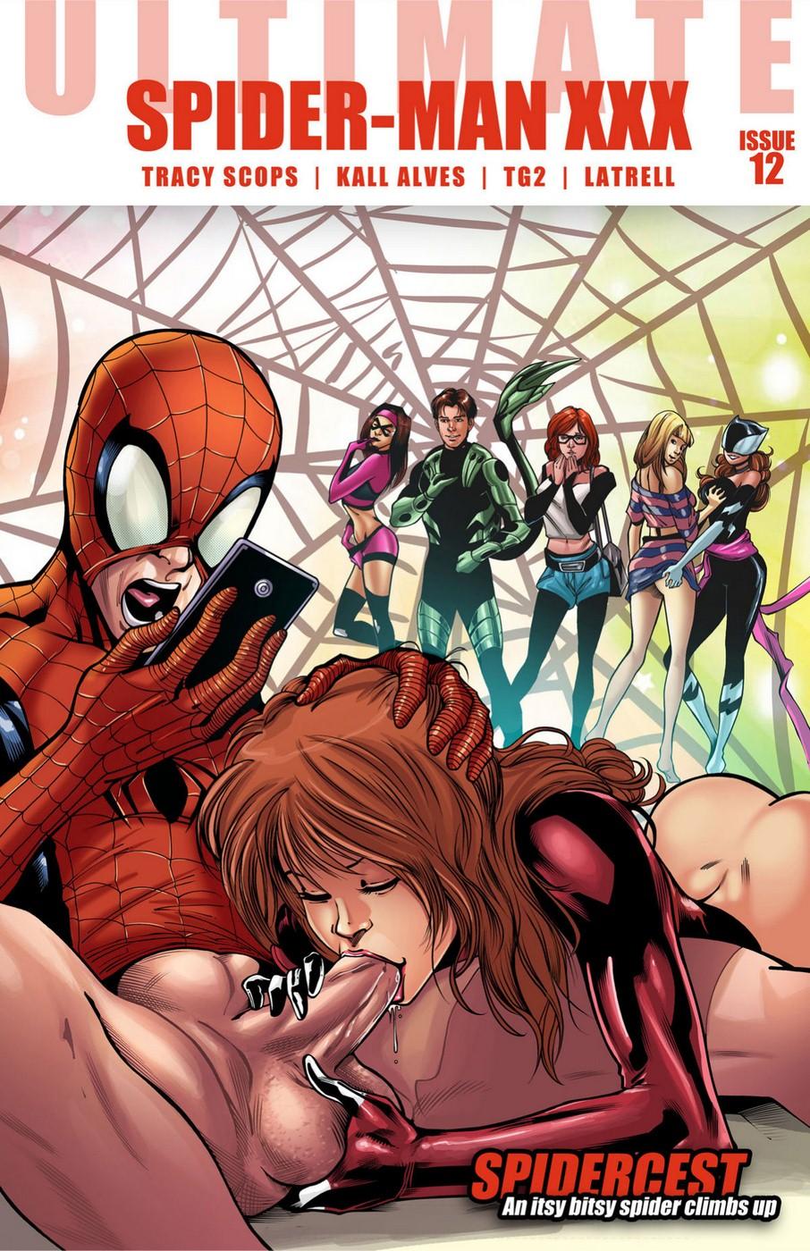 Ultimate Spiderman Porn Comics
