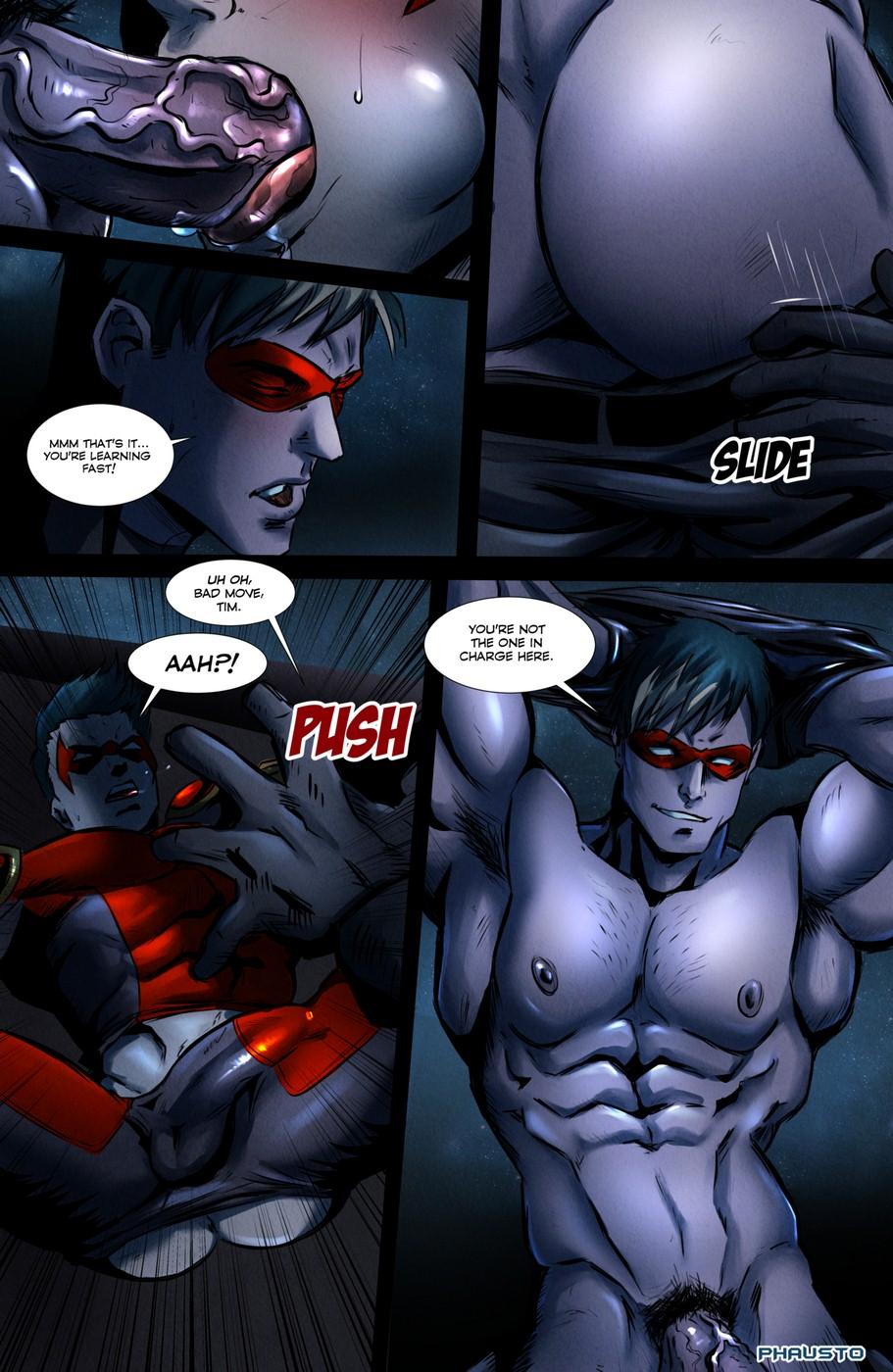 Batman Porno phausto- batboys - [batman], anal sex • free porn comics