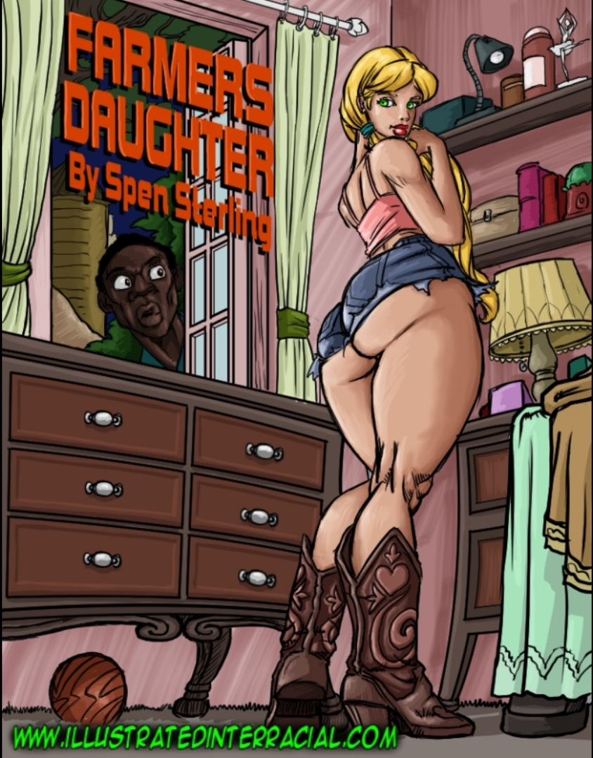 Illustrated Interracial Farmers Daughter  E2 80 A2 Free Porn Comics