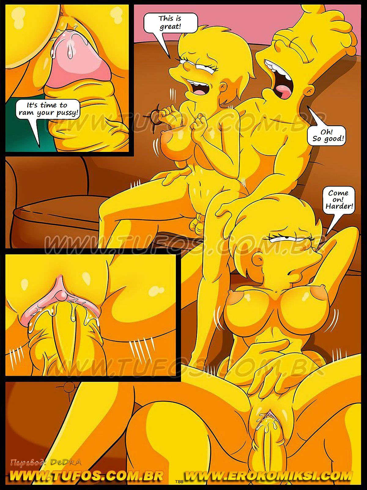 Simpsons porn game