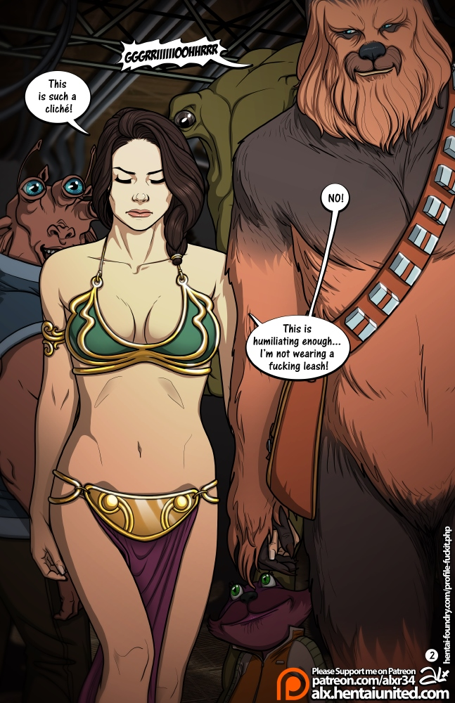 [Star Wars]- A Complete Guide to Wookie Sex II – (Undercover)