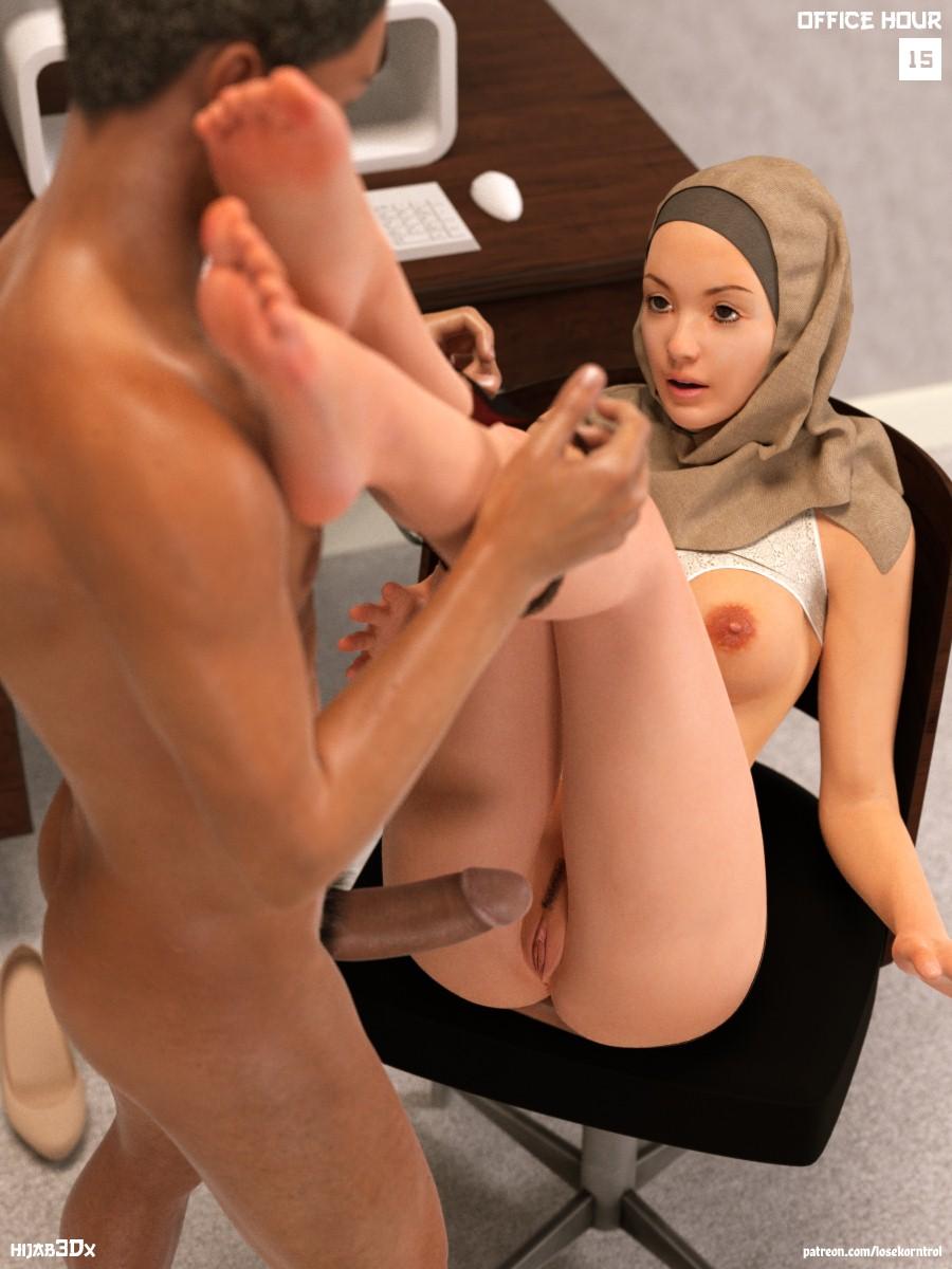 Hijab hardcore porn