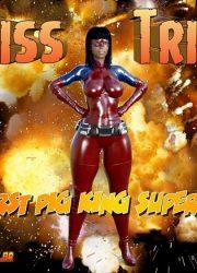 Pig King – MissTrix- The First Pig King Super Hero
