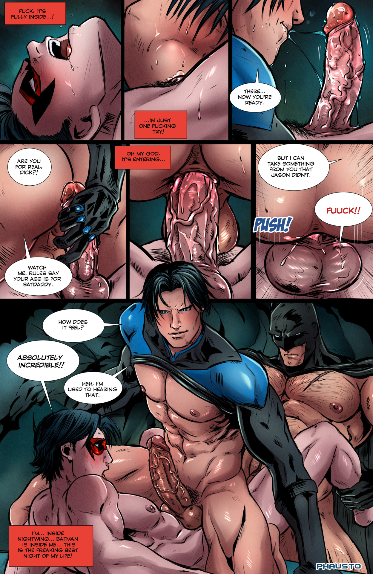 hardcore gay sex comics