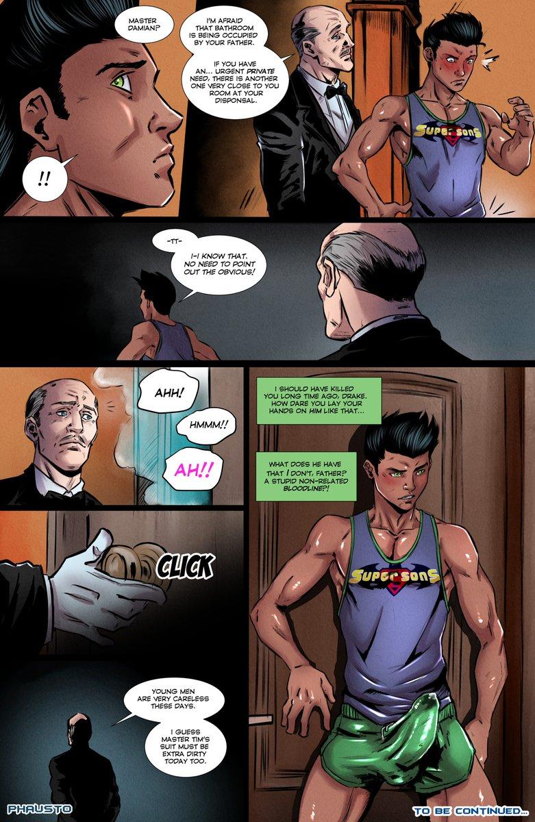 Bat Porno batman - phausto - batboys 2 • free porn comics