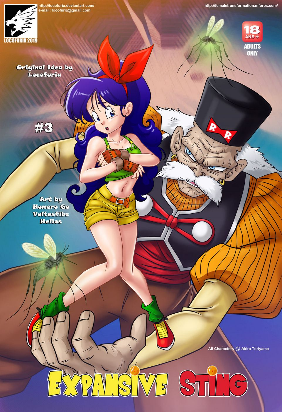 18 Xxx Dragon Ball Porn Comic - Locofuria – Expansive Sting 3 [Dragon Ball Z]