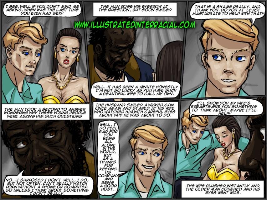 Interracial Sex Cartoon Comics Porn
