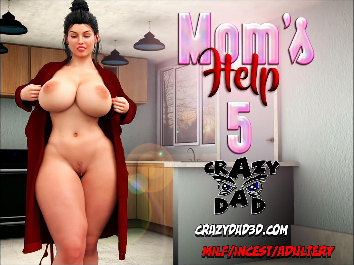 3D Anime Por crazydad3d- mom's help 5, 3d incest • free porn comics