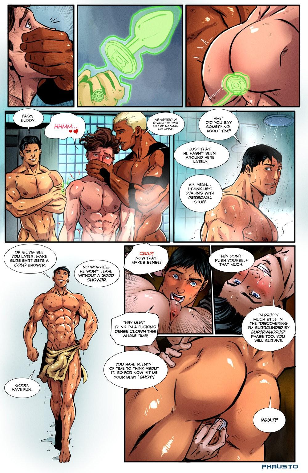 3D Gay Comic Porn phausto - superboy 1 • free porn comics