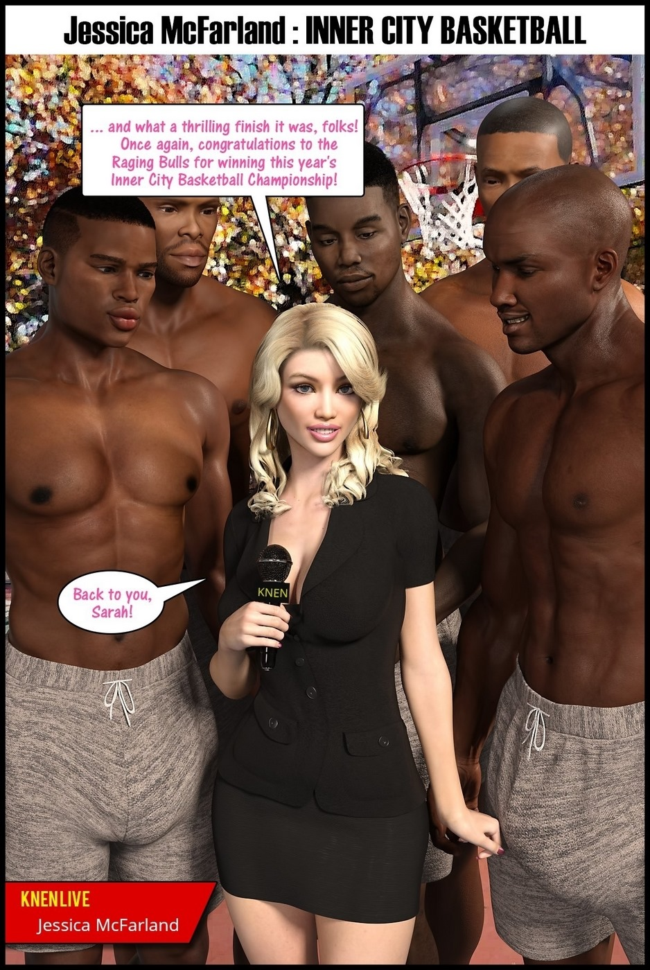 Basketball Porn darklord] - jessica mcfarland- inner city basketball • free