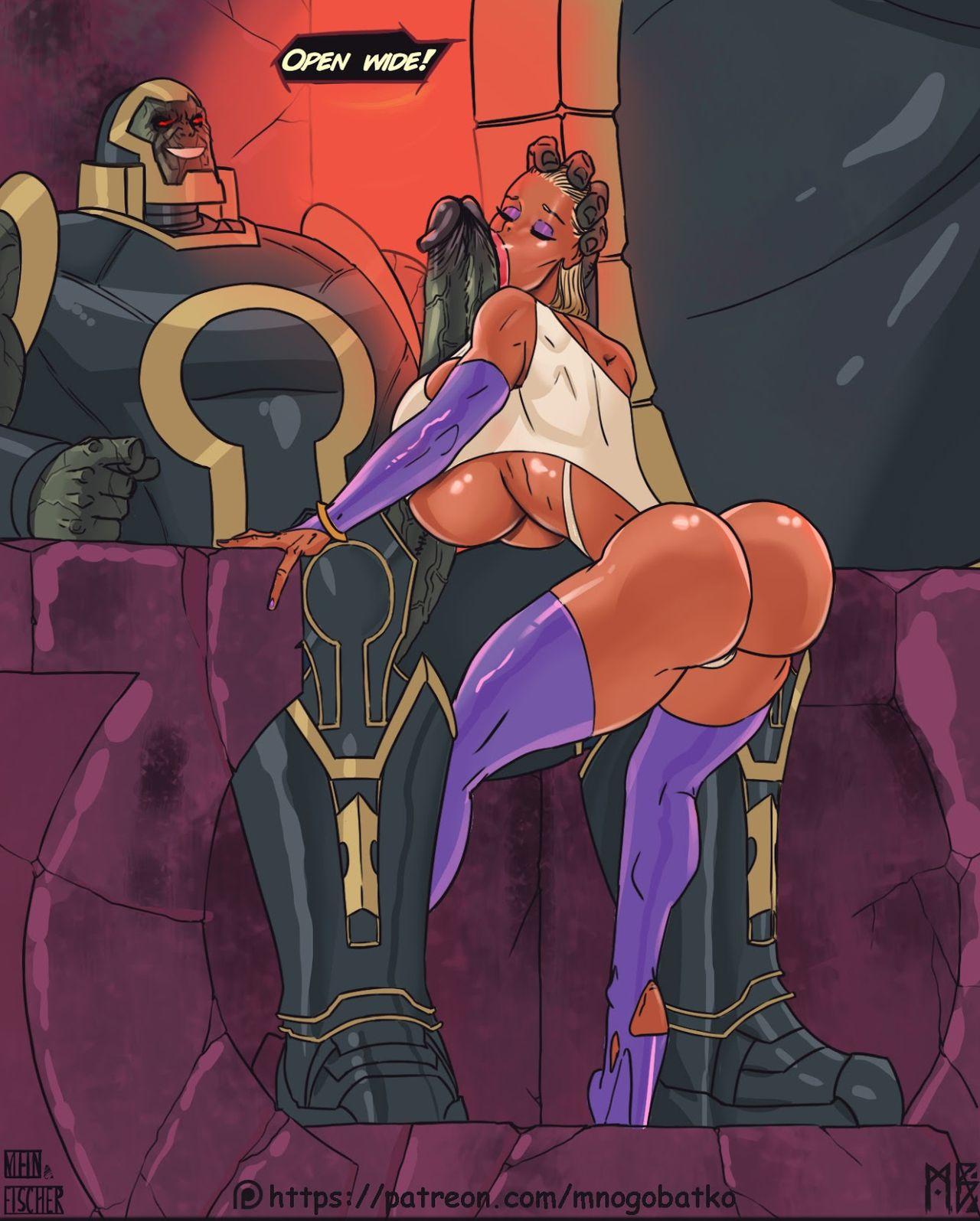 Powergirl pornó