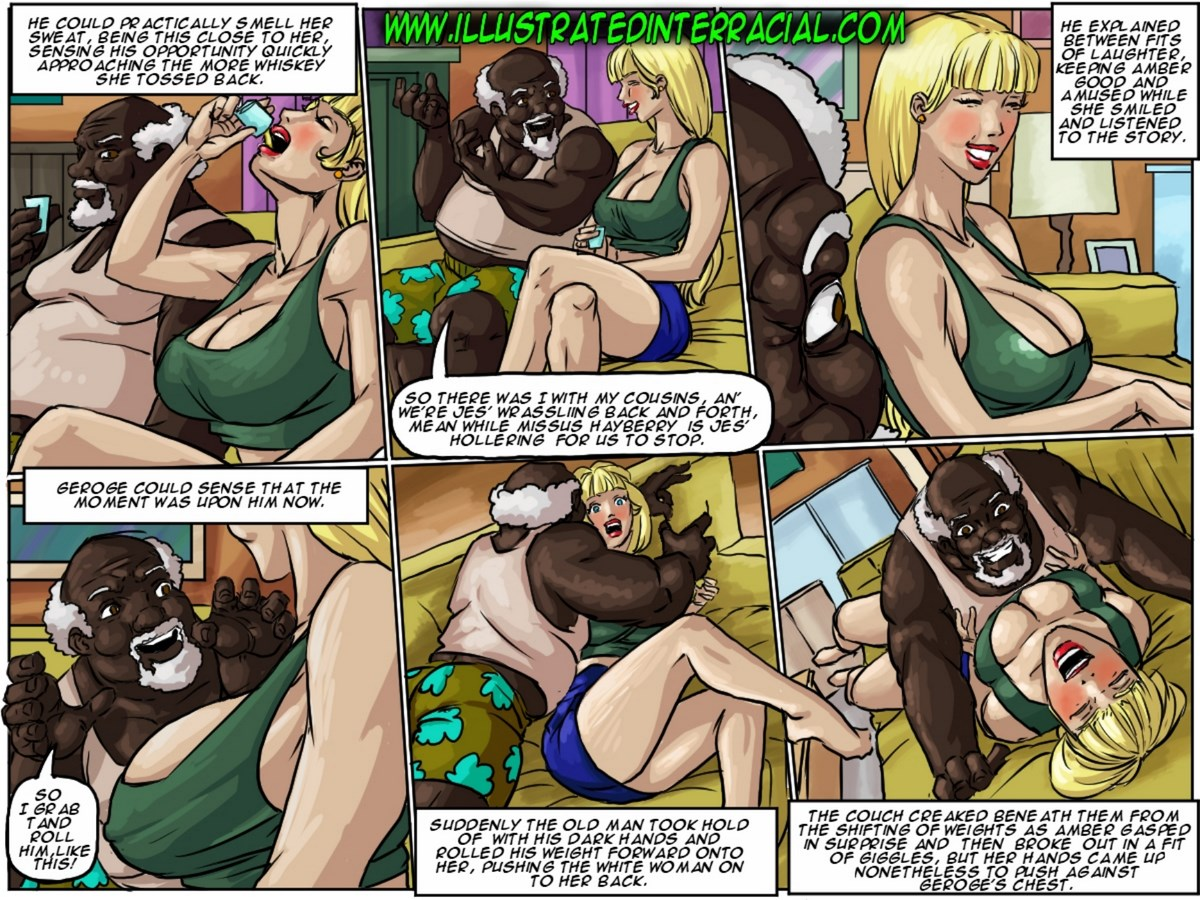 Illustrated Interracial Whiskey Mirror  E2 80 A2 Free Porn Comics