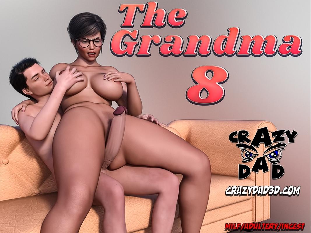 8 Comics Porn crazydad3d – the grandma part 8 • free porn comics