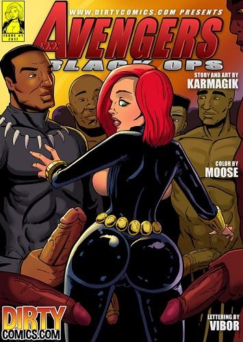 Superhero Comic Porn