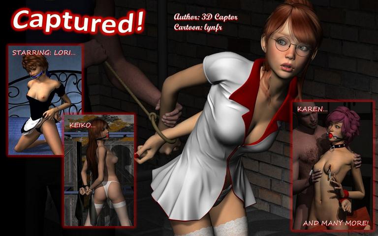 Captured Porn - 3Dcaptor - Captured • Free Porn Comics