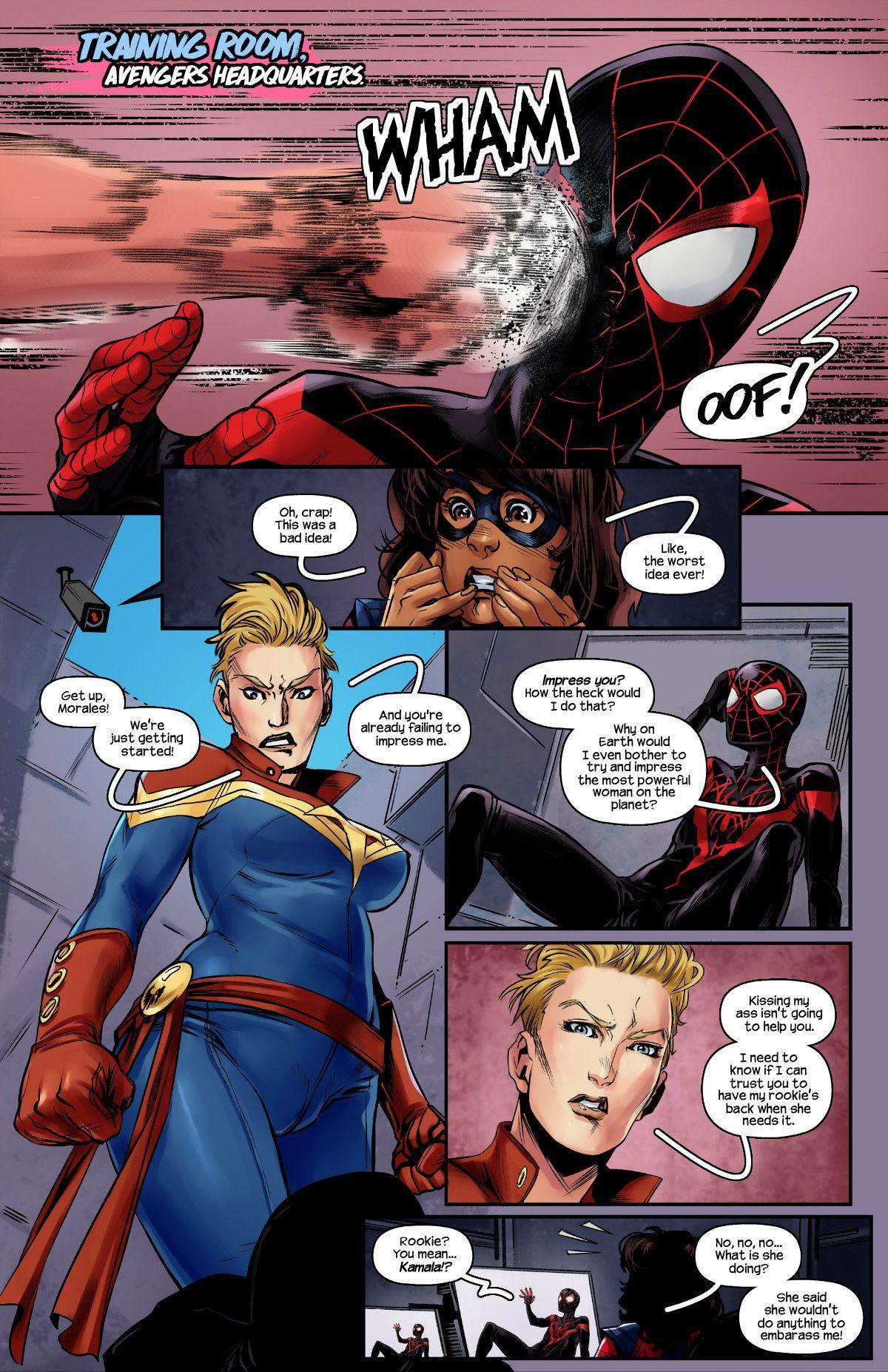 Ms Marvel Porn Comic
