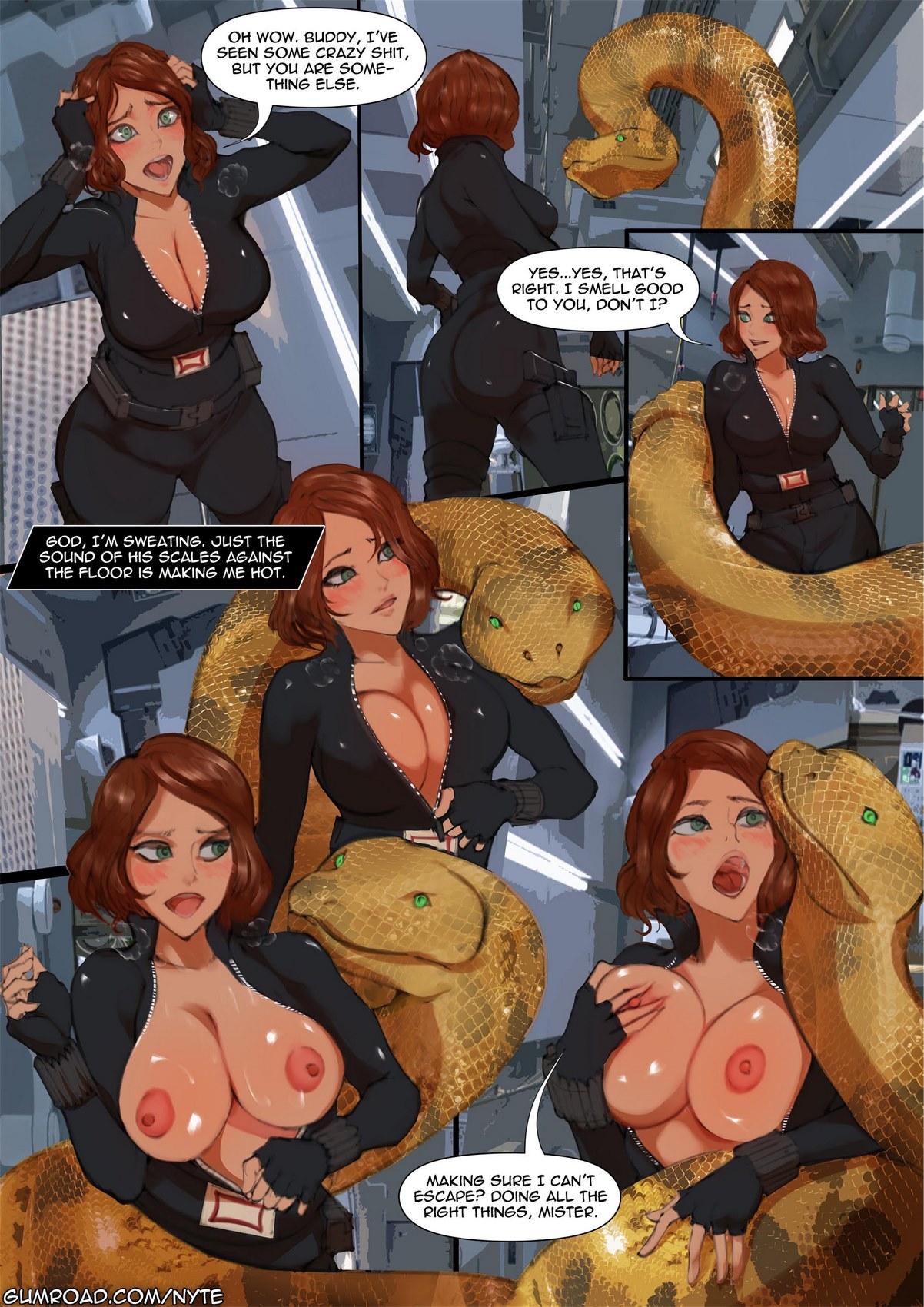 Black Widow Porn Comic
