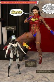 New Arkham For Superheroines 12-056