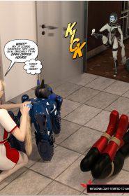 New Arkham For Superheroines 12-091