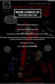 New Arkham For Superheroines 12-117